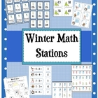 5 Winter Math Centers