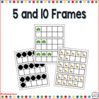 5 and 10 Frames for Kindergarten
