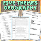 5 themes of geography essay and rubric