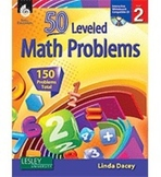 50 Leveled Math Problems Level 2