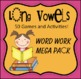 *50* Long Vowel Work Work Games and Activities