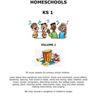 50 Music Lessons for Early Primary students - includes she