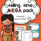 50+ Page Telling Time Mega Pack