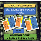 50 Roots Interactive Bellringers Power Point