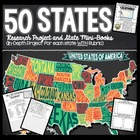 50 Spectacular States: Interactive Mini-Book and Research Project