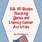 50 States Activities: Abbreviations, Capitals, Syllables,