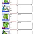 50 states foldable flash cards or worksheets - capitals, b
