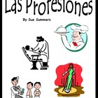 Spanish Professions 58 Slide Presentation, Flashcards or B