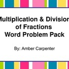 5.NF: Multiplication and Division of Fractions - Word Problems