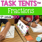 5th Common Core Name Tag Math Centers: Numbers and Operati