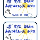 5th Grade Autograph Book Class of 2013