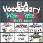5th Grade Common Core ELA Ultimate Vocabulary Resource