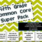 5th Grade Common Core ELA/Math Bundle