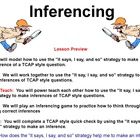 5th Grade  Common Core Inferencing Lesson for ActivInspire