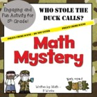 5th Grade Common Core Math Mystery