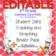 5th Grade Common Core Math {Student Data Tracking Binder P