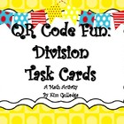 5th Grade Division with QR Code Fun Common Core 5.NBT.6