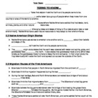 5th Grade History Alive Chapter 2 Study Guide