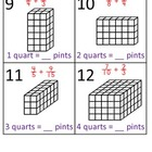 5th Grade Math Calendar - Volume, Capacity, Add & Sub Fractions