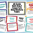 5th Grade Math &amp; ELA Common Core Posters/Cards for Display