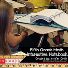 5th Grade Math Interactive Notebook for Entire Year Bundle