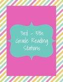 3rd - 5th Grade Reading Centers / Stations