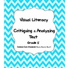 5th Grade Visual Literacy-Critiquing and Analyzing Text