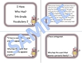 5th Grade Vocabulary Game 2