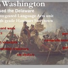 5th grade Storytown:  When Washington Crosses the Delaware