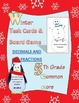 5th grade common core fractions & decimals winter  task ca