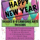6-9 ELA/Social Studies New Year's Package