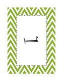 6 Chevron Table Numbers