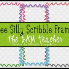 6 FREE Silly Scribble Frames