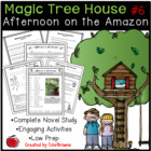 #6 Magic Tree House- Afternoon on the Amazon Novel Study