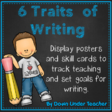 6 Six Traits VOICES Writing Bulletin Board headers and str