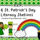 6 St. Patrick's Day Literacy Stations