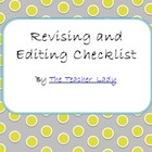 6 Traits of Writing Revision Checklist