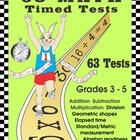 63 Math Timed Tests