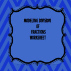 6.NS.1  Modeling division of fractions