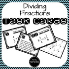 6.NS.1 Dividing Fractions Task Cards