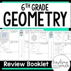 6th Grade Common Core Geometry Review Booklet
