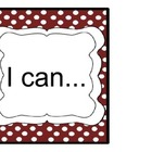 "6th Grade Common Core ""I Can"" Statements for Reading"