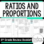 6th Grade Common Core Ratios and Proportional Reasoning Re