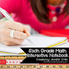 6th Grade Interactive Notebook Bundle- All Standards- Alig