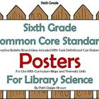 6th Grade Library  Common Core Standards with References/P
