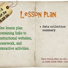 6th Grade Math:  6.SP.5, 6.SP.5a & 6.SP.5b:  One Lesson Plan