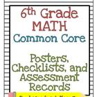 6th Grade Math Common Core Pack