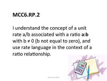 6th Grade Math Common Core Standards