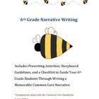 6th Grade Narrative Aligned with Common Core Standards