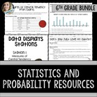 6th Grade Statistics and Probability Math Resources